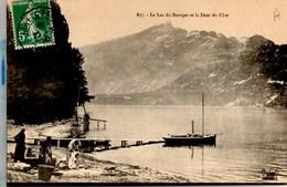 Lac Du Bourget (Avec Des LAVANDIERES) & Dent Du Chat CPA Ecrite En 1910 TBE - France