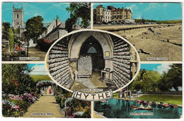 HYTHE (Kent), Multiview, Posted 1965. (Norman, D18756) [P0083/5/1D] - England