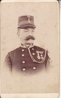 DIEST Photo CDV Du Major De CANNART D'HAMAL En 1894 Photographe Inconnu - Guerre, Militaire