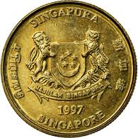 Monnaie, Singapour, 5 Cents, 1997, Singapore Mint, SUP, Aluminum-Bronze, KM:99 - Singapour