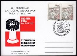 Croatia Pula 1997 11th European Team Chess Championship - Echecs