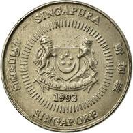 Monnaie, Singapour, 10 Cents, 1993, Singapore Mint, TB+, Copper-nickel, KM:100 - Singapour