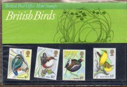 1980 Wild Birds Pack No. 115 - Presentation Packs