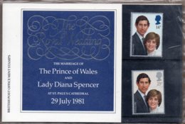 1981 Royal Wedding Pack No. 127a - Presentation Packs