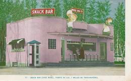 Casse Croute (Chez Rose) Snack Bar, Pointe Du Lac, 7 Milles De Trois-Rivieres - Trois-Rivières