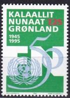 Grönland, 1995, Michel : 259, 50 Jahre Vereinte Nationen (UNO). MNH ** - Groenland