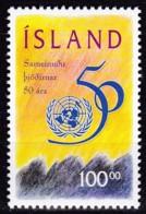 Island, 1995, Michel :837, 50 Jahre Vereinte Nationen (UNO). MNH ** - 1944-... Republik