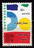 Rumänien, 1995, Michel : 1545, 50 Jahre Vereinte Nationen (UNO). MNH ** - 1980-... (Beatrix)