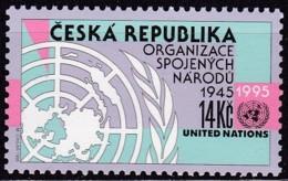 Tschechische Republik, CESKA,  1995, 90, 50 Jahre Vereinte Nationen (UNO). MNH ** - Tchéquie