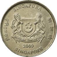 Monnaie, Singapour, 20 Cents, 2009, Singapore Mint, TB+, Copper-nickel, KM:101 - Singapour