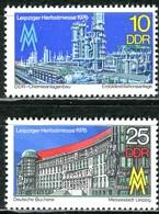 DDR - Mi 2161 / 2162 - ** Postfrisch (B) - 10-25Pf    Leipziger Herbstmesse 76 - [6] Oost-Duitsland