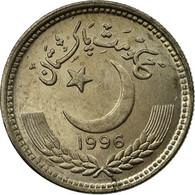 Monnaie, Pakistan, 25 Paisa, 1996, TTB, Copper-nickel - Pakistan