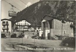 W2006 Courmayeur (Aosta) - La Palud Stazione Di Partenza Funivia Del Monte Bianco - Auto Cars Voitures / Non Viaggiata - Altre Città