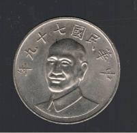 CHINA TAIWAN - 10 Dolar - - Y#553 - Taiwán