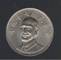 CHINA TAIWAN - 10 Dolar - - Y#553 - Taiwan