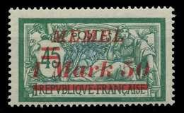 MEMEL 1922 Nr 66 Postfrisch X887C76 - Memel (Klaïpeda)