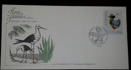 O) 1982 PORTUGAL PHILEXFRANCE 1982-STAMP EXHIBITION-BIRD BLACK WINGED STILT, FDC XF - FDC