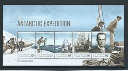 Australian Antarctic Territory 2014 Expedition Anniversary #4 Miniature Sheet Homeward Bound MNH - Territoire Antarctique Australien (AAT)