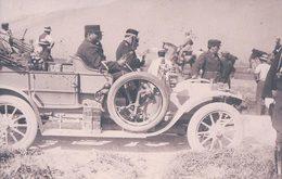 Armée Suisse, Automobile Du Colonel Divisionnaire Bornand Et Signature (22.10.1911) Pli D'angle - Personnages