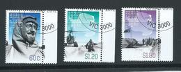 Australian Antarctic Territory 2012 Phillip Law Memorial Set 3 VFU CTO Melbourne Cds - Used Stamps