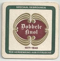Bierviltje - Dobbele Knol - Speciaal Gebrouwen Ter Herdenking P.P. RUBENS - Bierviltjes