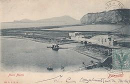 POZZUOLI-NAPOLI-MARE MORTO-CARTOLINA VIAGGIATA IL 10-4-1902 - Pozzuoli