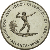 Monnaie, SAINT THOMAS & PRINCE ISLAND, 1000 Dobras, 1993, SPL, Copper-nickel - Sao Tome And Principe