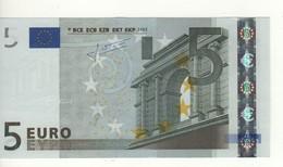 "5 EURO  ""P""  Olanda     Firma Trichet     E 007 C3  Variante 'A'  /  FDS - UNC - EURO"
