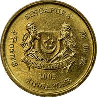Monnaie, Singapour, 5 Cents, 2005, Singapore Mint, TTB, Aluminum-Bronze, KM:99 - Singapour