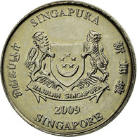 Monnaie, Singapour, 20 Cents, 2009, Singapore Mint, SUP, Copper-nickel, KM:101 - Singapour