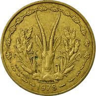 Monnaie, West African States, 25 Francs, 1978, TTB, Aluminum-Bronze, KM:5 - Ivory Coast