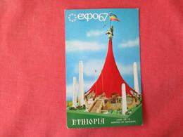 Ethiopia   Expo 1967       Land Of 13 Months Of Sunshine      >  Ref 3230 - Ethiopie