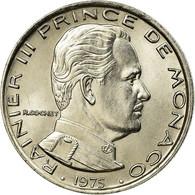 Monnaie, Monaco, Rainier III, Franc, 1975, SUP, Nickel, Gadoury:MC 150, KM:140 - Monaco