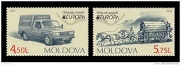 Moldova 2013 Mih. 829/30 Europa-Cept. Postal Means MNH ** - Moldavia