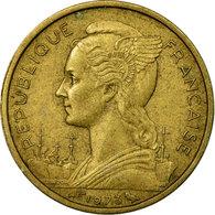 Monnaie, Réunion, 10 Francs, 1973, TTB, Aluminum-Nickel-Bronze, KM:10a - Réunion