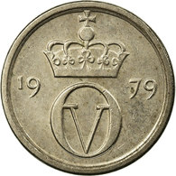 Monnaie, Norvège, Olav V, 10 Öre, 1979, TTB, Copper-nickel, KM:416 - Norvège