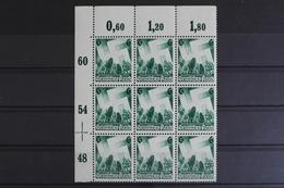 Deutsches Reich, MiNr. 632, 9er Block, Ecke Li. Oben, Postfrisch / MNH - Germany