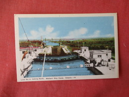 Canada > Ontario > Lock # 6  Welland Ship Canal      >  Ref 3231 - Ontario