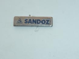 Pin's LABORATOIRE SANDOZ, MEDICAMENT - Médical