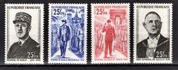 REUNION - SERIES Y.T. N° 400 A 403  - NEUFS** - Réunion (1852-1975)