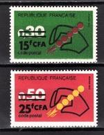 REUNION -  LOT Y.T. N° 410 / 411 - NEUFS** - Réunion (1852-1975)
