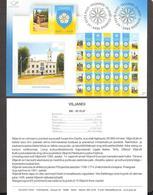 Estonia 2007 Stamp Presentation Card Viljandi City Coat Of Arms (est) Mi597 - Estland