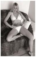 Sexy ADELE STEPHENS Glamour & Fashion PHOTO Postcard - RWP Edition Year 2014 - Pin-Ups