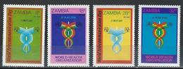 Zambia. Scott # 236-39 MNH. Telecommunications. Joint Issue With Brunei 1981 - Joint Issues