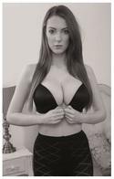 Sexy ALICE BROOKES Glamour & Fashion PHOTO Postcard - RWP Edition Year 2014 - Pin-Ups