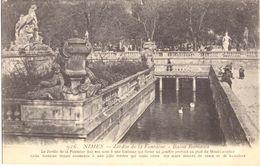 Nimes Jardin De La Fontaine Bains Romains - Nîmes