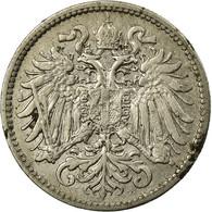 Monnaie, Autriche, Franz Joseph I, 10 Heller, 1895, TB, Nickel, KM:2802 - Autriche