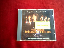 THE  THREE  MUSKETEERS  LES TROIS MOUSQUETAIRES   ALL FOR LOVE - Musique De Films
