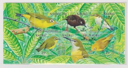 Nauru SG 603a MS 2005 Birdlife Miniature Sheet,Mint Never Hinged - Nauru