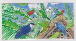 Nauru SG 603b MS 2005 Birdlife Miniature Sheet,Mint Never Hinged - Nauru